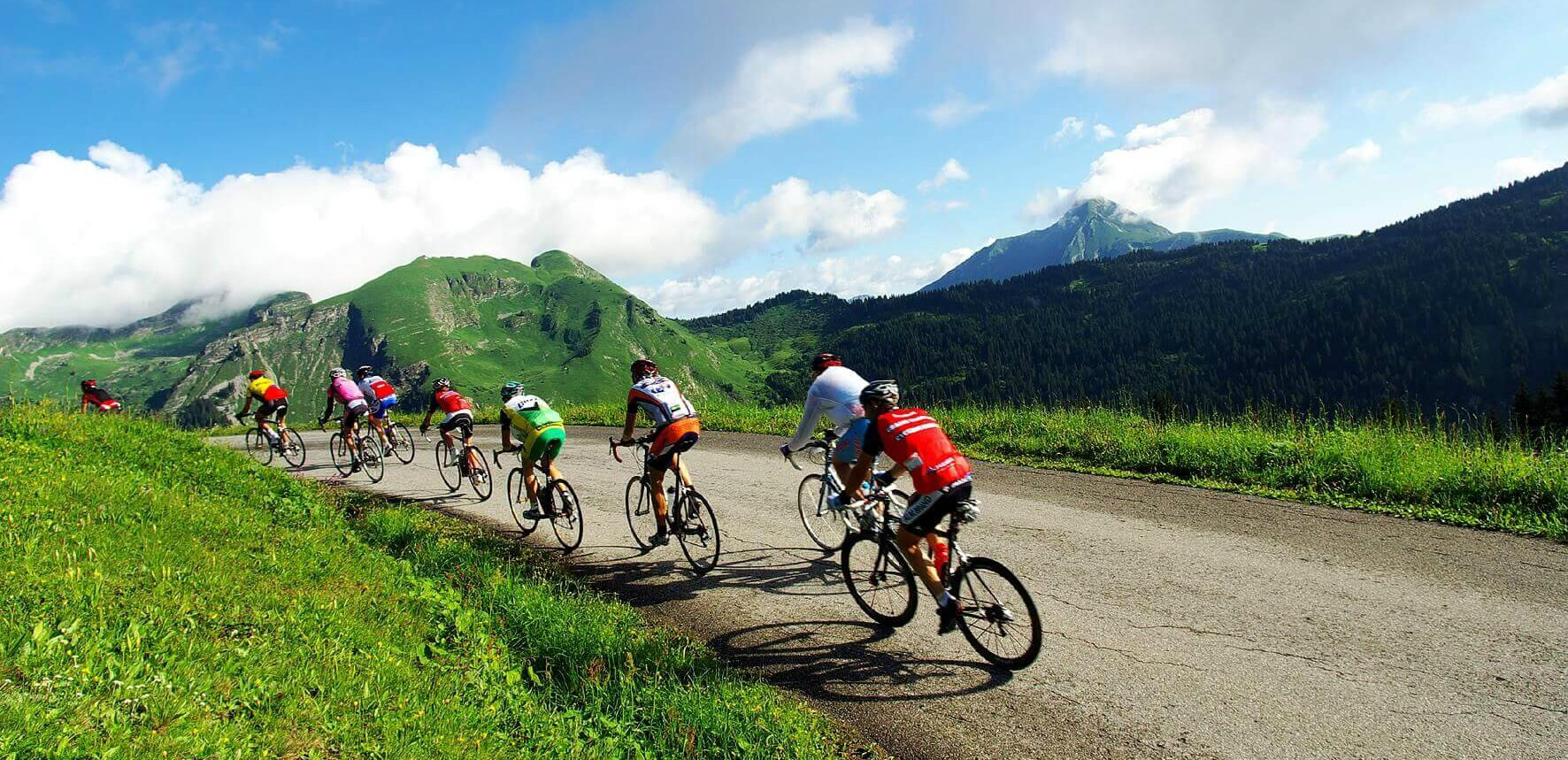 Fully catered and guided cycling holidays in the French Alps