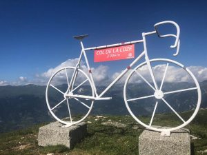 Summit of Col de la Loze