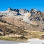Col de la Madeleine. A popular road cyclng route in France.